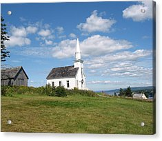 Church On The Hill Acrylic Print
