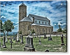 Acrylic Print featuring the photograph Church On The Hill by Renee Hardison