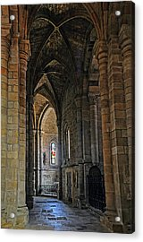 Acrylic Print featuring the photograph Church Passageway Provence France by Dave Mills