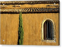 Church. Provence Acrylic Print by Bernard Jaubert