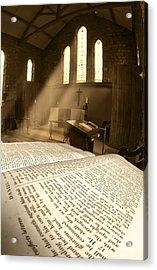 Church, Rosedale, West Yorkshire Acrylic Print