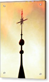 Church Spire Acrylic Print by Joana Kruse