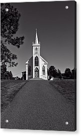 Church St Teresas Of Avila  Acrylic Print by Garry Gay