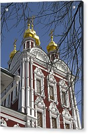 Churches Russia6 Acrylic Print by Yury Bashkin