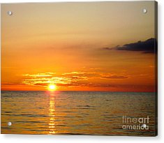 Cienfuegos Sunset  Acrylic Print by Laurel Fredericks