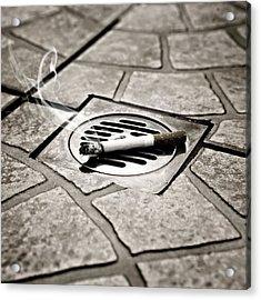 Cigarette Acrylic Print by Joana Kruse