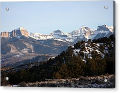 Acrylic Print featuring the photograph Cimmaron Range by Marta Alfred