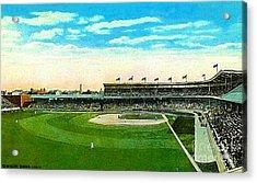 Cincinnati Reds' Redland Field In 1910 Acrylic Print by Dwight Goss