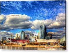 Cincinnati Skyline 2012 - 2 Acrylic Print