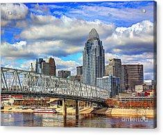 Cincinnati Skyline 2012 Acrylic Print