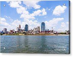 Cincinnati Skyline And Downtown City Buildings Acrylic Print