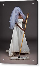 Acrylic Print featuring the photograph Cinderella Bride by Jim Boardman