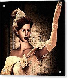 Cinderella Acrylic Print by Lourry Legarde
