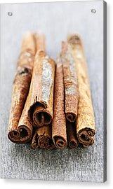 Cinnamon Sticks Acrylic Print by Elena Elisseeva