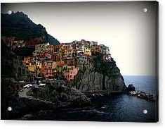 Cinque Terre Acrylic Print by Kevin Flynn