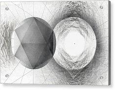 Circle Potential Acrylic Print