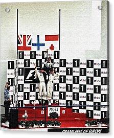 Circuito De Jerez 1997 Acrylic Print by Juergen Weiss