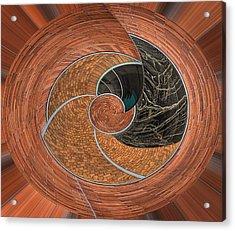 Circular Koin Acrylic Print by Jean Noren