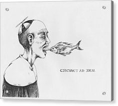 Circumit Ad Idem Acrylic Print by Canis Canon