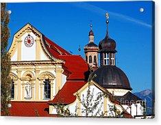Cistercian's Basilica In Austrian Tyrol Acrylic Print