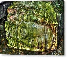 Cistern Medusa Acrylic Print