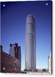 Citicorp Plazas Fifty-three-story 777 Acrylic Print by Everett