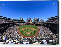Citifield Acrylic Print by Rick Berk