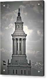 City And County Of Denver Building Acrylic Print by Christine Till