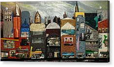 City Block Acrylic Print