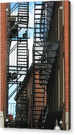 City Escapes Acrylic Print by Bruce Carpenter