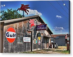 Acrylic Print featuring the photograph City Garage by Joe Finney