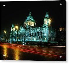 City Hall, Belfast, Ireland Acrylic Print by The Irish Image Collection