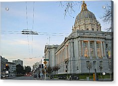 Acrylic Print featuring the photograph City Hall San Francisco by Rima Biswas
