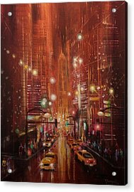 City Lights 2 Acrylic Print by Tom Shropshire
