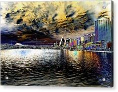 City Of Color Acrylic Print by Douglas Barnard