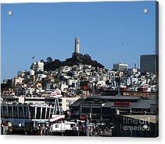 City Of San Francisco Acrylic Print by Serena Ballard