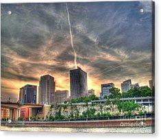 Cityscape Acrylic Print by Jimmy Ostgard