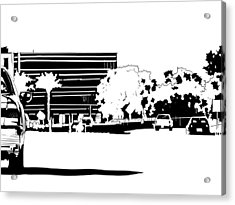 Cityscape Nr 1 Acrylic Print by Giuseppe Cristiano