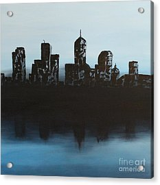 Cityscape One Acrylic Print