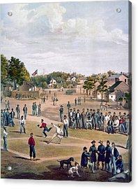 Civil War: Union Prisoners Acrylic Print by Granger