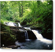 Clare Glens, Co Limerick, Ireland Irish Acrylic Print by The Irish Image Collection
