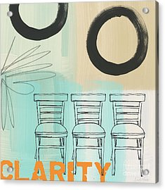 Clarity Acrylic Print by Linda Woods