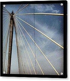 Clark Bridge Acrylic Print