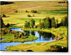 Acrylic Print featuring the photograph Clark Fork Delta  by Albert Seger