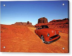 Acrylic Print featuring the photograph Clashing With Nature by Bill Dutting