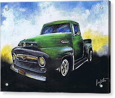 Classic 56 Ford Truck Acrylic Print