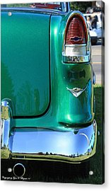 Acrylic Print featuring the photograph Classic Chevy by Tyra  OBryant
