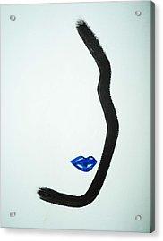 Classic Cobalt Acrylic Print by Joyce Carroll