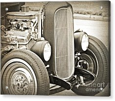 Classic Ford Acrylic Print by Emily Kelley