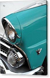 Classic Ford Acrylic Print by John Black